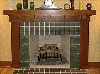 Mission Arts and Crafts Craftsman Stickley Mantels and