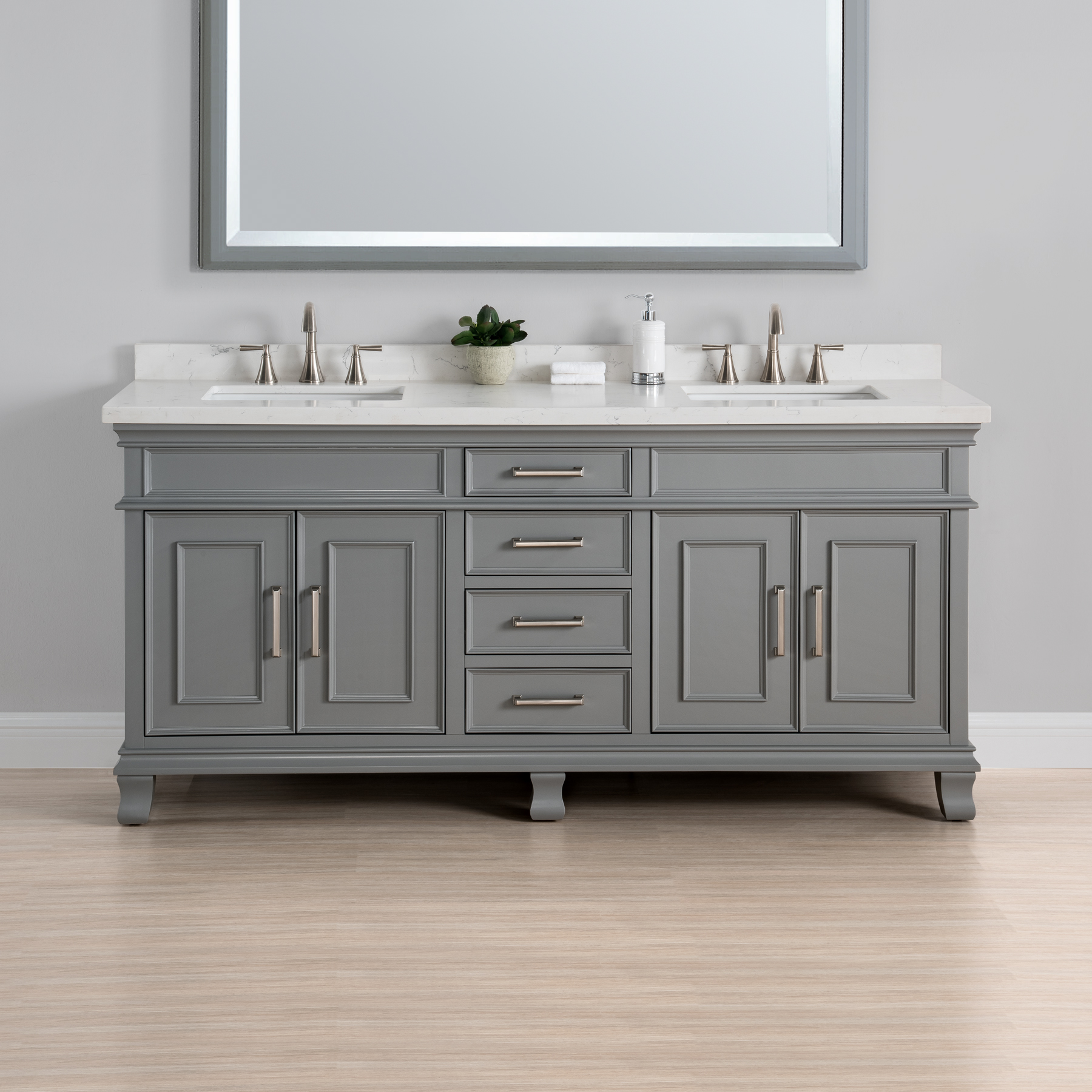 Double Sink Bathroom Vanity Ideas 2018  Home Comforts