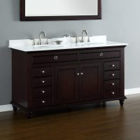 "Mayfield 60"" Double Sink Vanity 