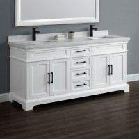 "Chandler 72"" Double Sink Vanity | Mission Hills Furniture"