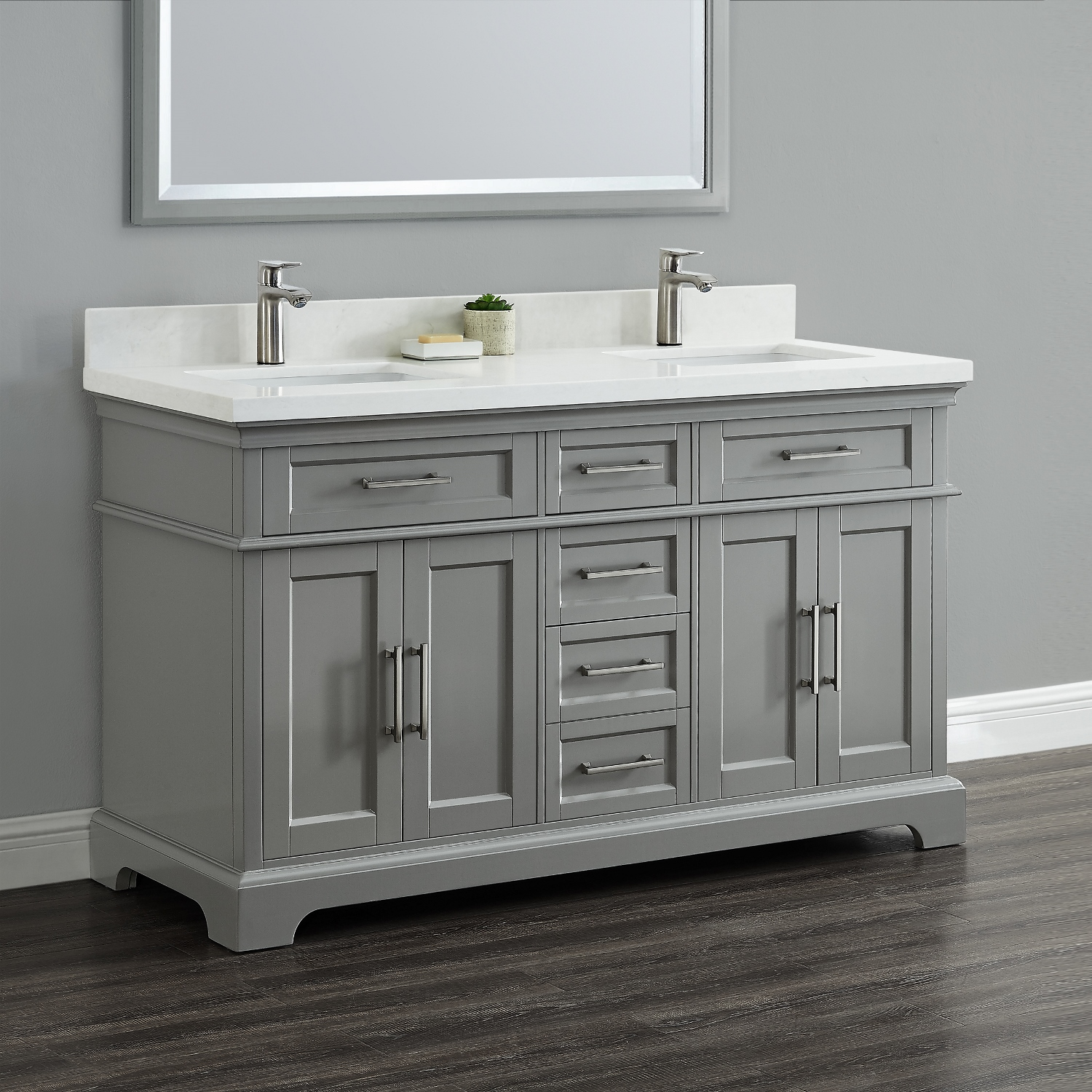 Mission Hills Vanity 48  Vanity Ideas