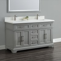 "Cameron 60"" Double Sink Vanity 