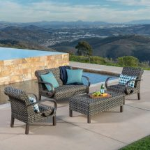 Westlake 4pc Deep Seating Collection Mission Hills Furniture