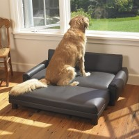 Faux Leather Dog Sofa | Mission Hills Furniture