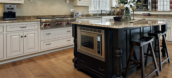 how to replace kitchen countertops small recycling bins for two-tone kitchens combine light and dark cabinets a ...