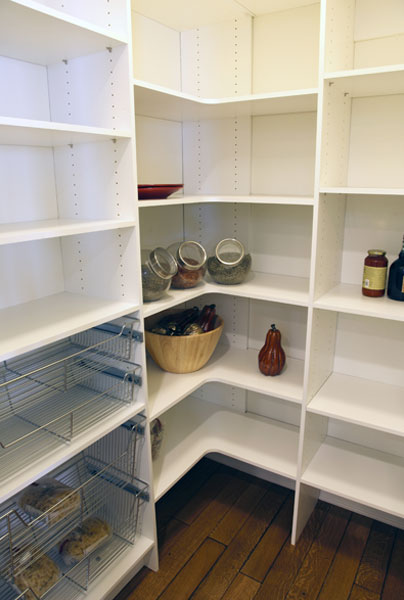 kitchen pantry bulletin board add the perfect walk in to your mission and one of most popular features for remodels as well new homes is a