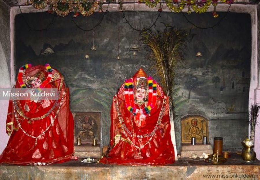 New Idol of Sugali Mata in the temple - Auwa