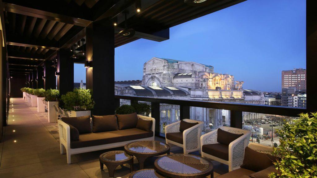 Hotel per eventi con terrazza a Milano 5 rooftop da non perdere