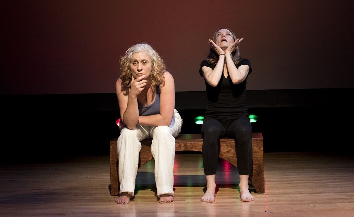 Debórah Eliezer, left, and Michelle Haner, right. Photo by Wendy Yalom