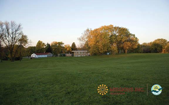 Missions Inc. campus landscape