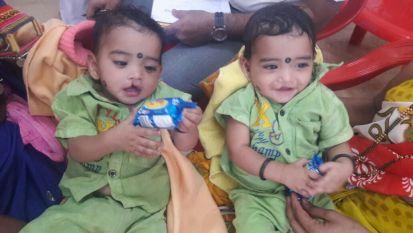Ram & Lakshman Playing Before the Surgery