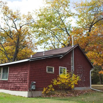 cottage 9, before painting, fall