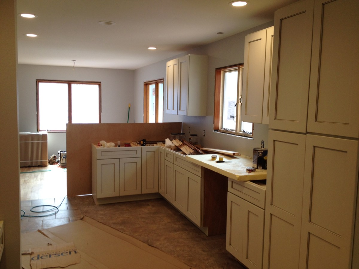 Kitchen of the Lake House