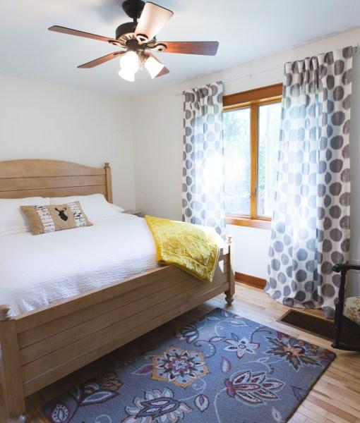 Lake House first floor bedroom, Lakeside