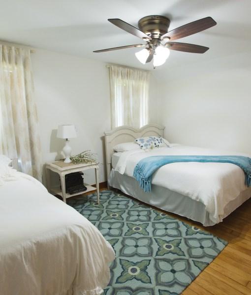 Lake House upstairs bedroom