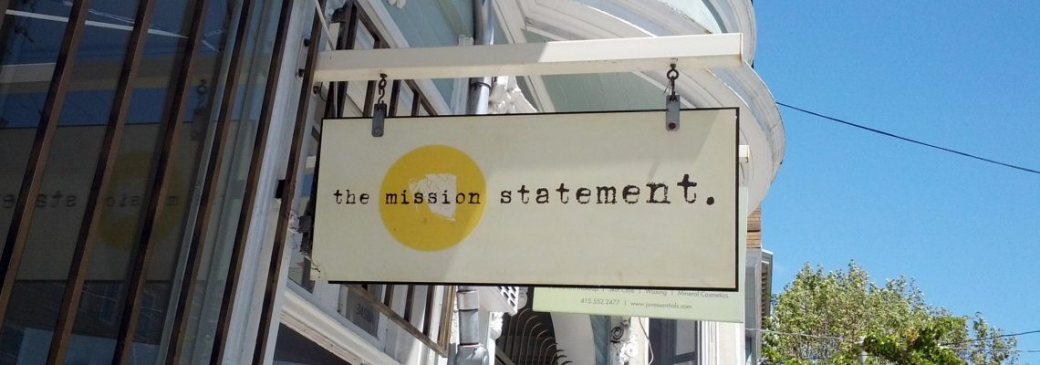 Writing a Mission Statement is Like Writing a Short Story