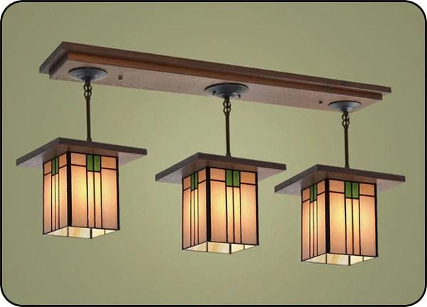 Craftsman Style Light Fixtures #507