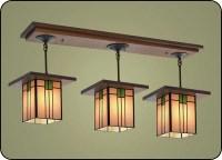 Craftsman Style Light Fixtures #507 | Mission Studio