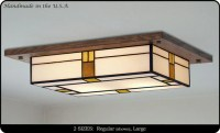 Mission Style Ceiling Light Fixture #709 | Mission Studio