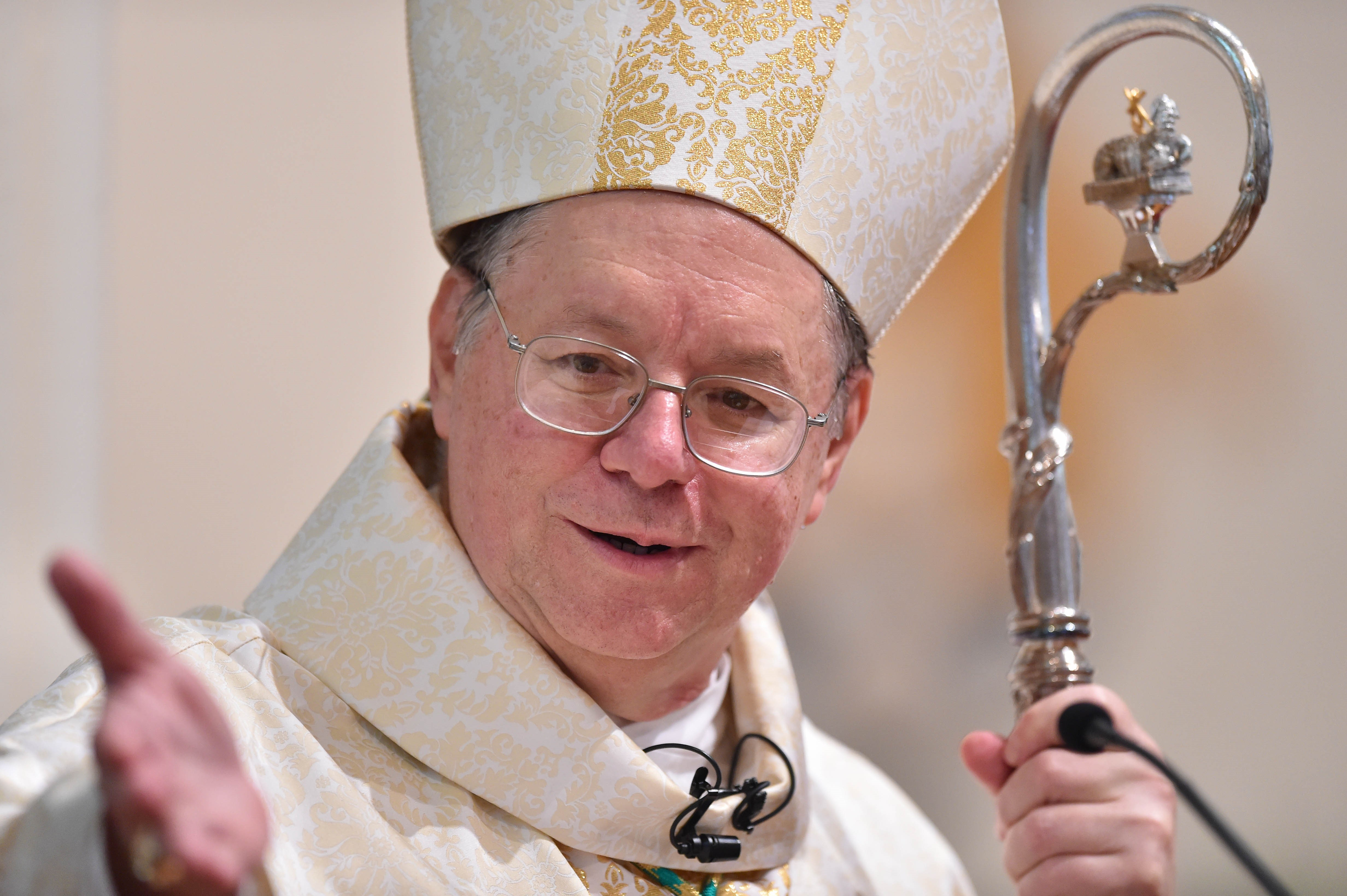 After delay for surgery Bishop Kihneman takes helm of