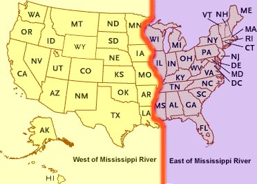 Image result for map of the mississippi river