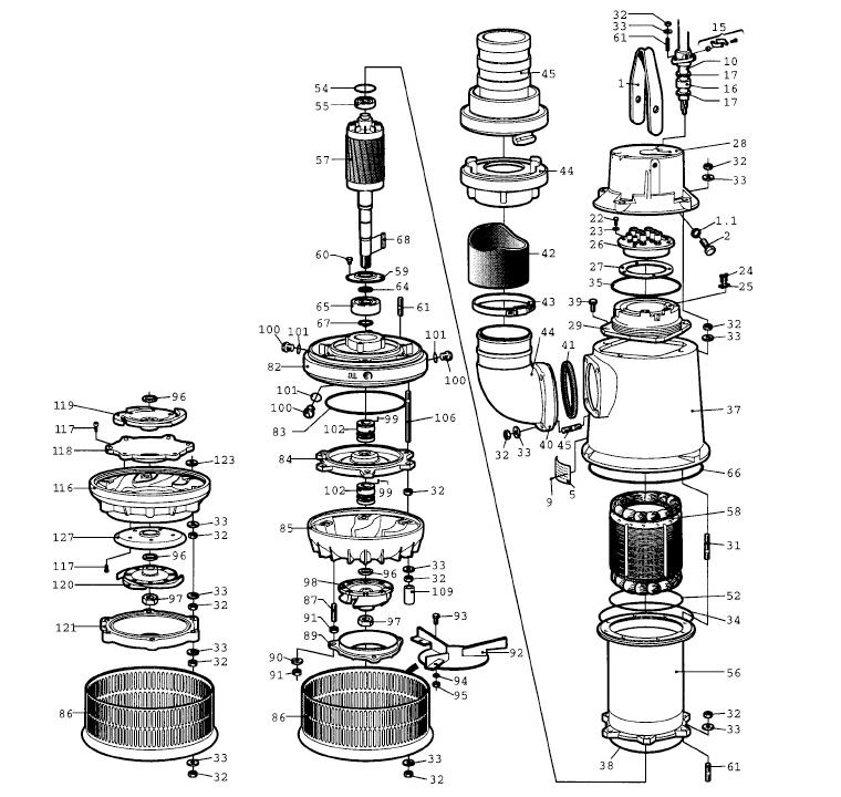 Mississippi Valley Pump, Inc.- Pump Detail, Model 2140