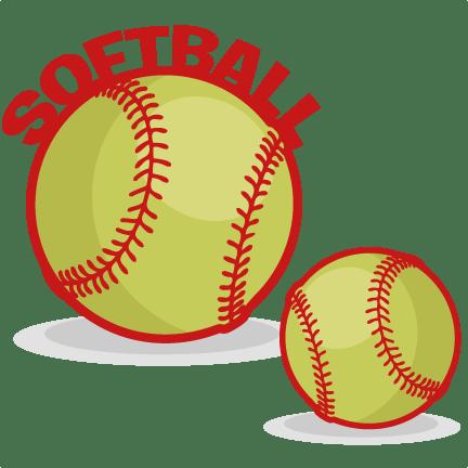 softball set svg scrapbook cut
