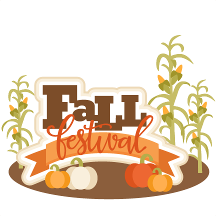 fall festival title svg scrapbook