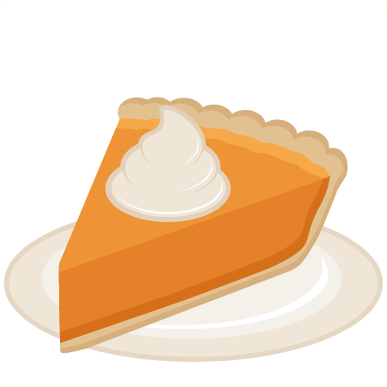 pumpkin pie slice svg scrapbook