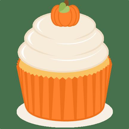pumpkin cupcake svg scrapbook cut
