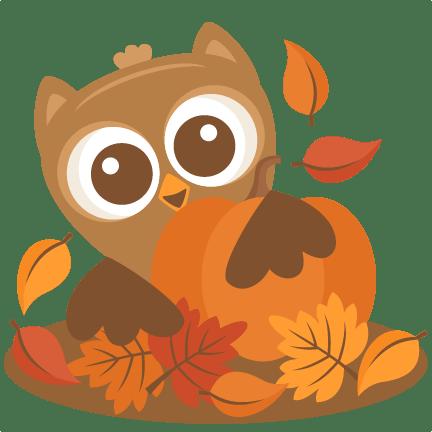 owl pumpkin svg scrapbook