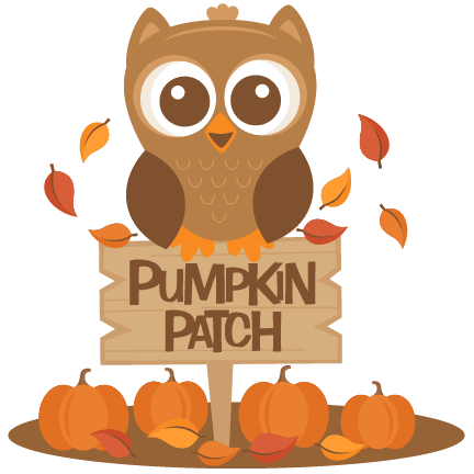 owl in pumpkin patch svg scrapbook