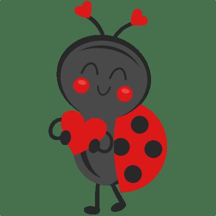 valentine ladybug svg scrapbook