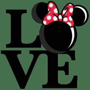Download Love Mouse Girl Title SVG scrapbook cut file cute clipart ...