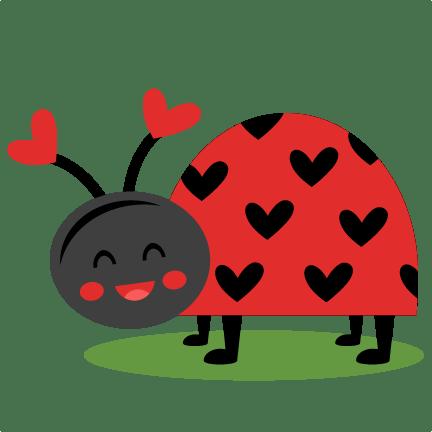 ladybug svg scrapbook cut file