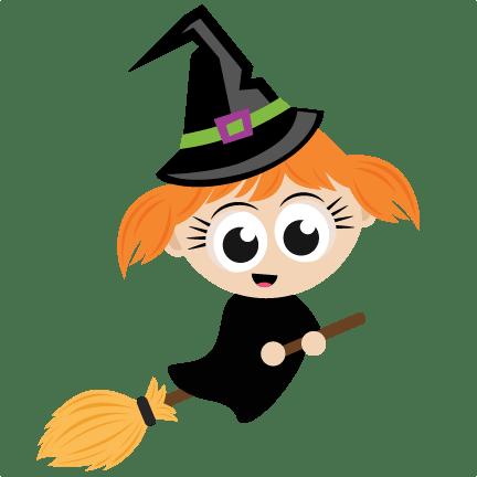 halloween witch svg scrapbook cut