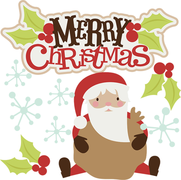 merry christmas svg clipart