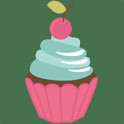 chocolate cupcake svg file free