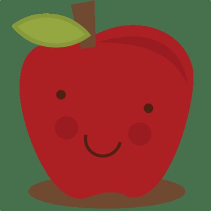 cute apple svg file