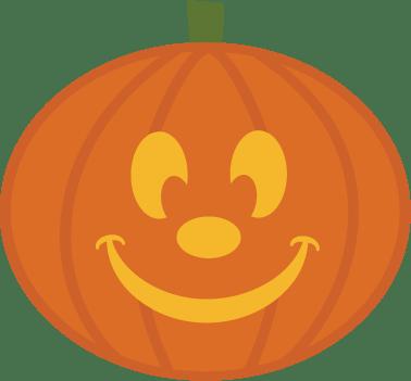 pumpkin with face svg