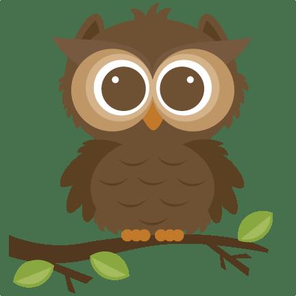forrest owl svg cut file scrapbooking