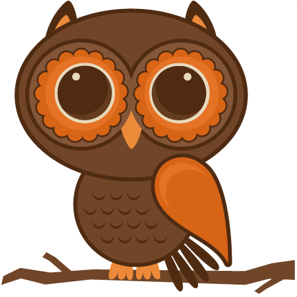 fall owl set svg files scrapbooking