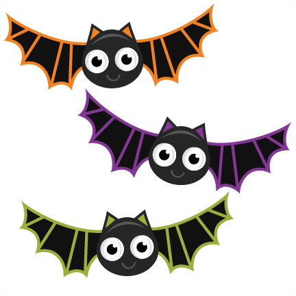 bats svg cutting files bat