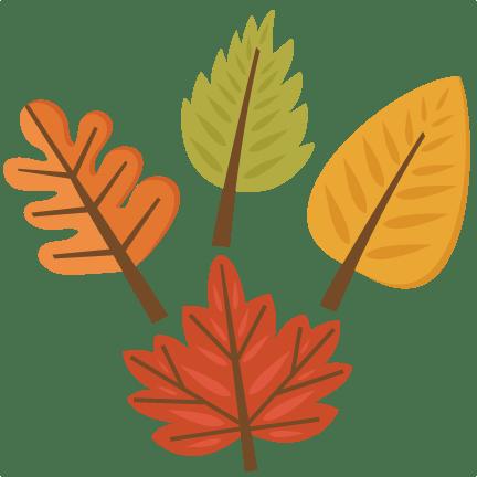 fall leaf set svg cutting files