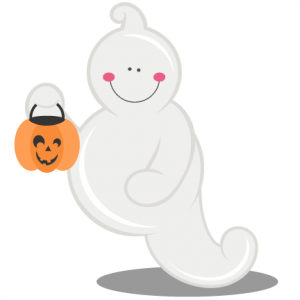 ghost svg cutting files halloween