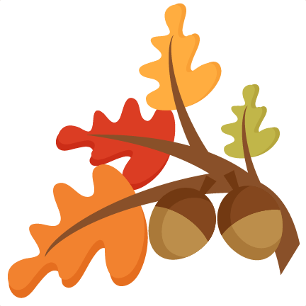 fall leaves group svg cutting file