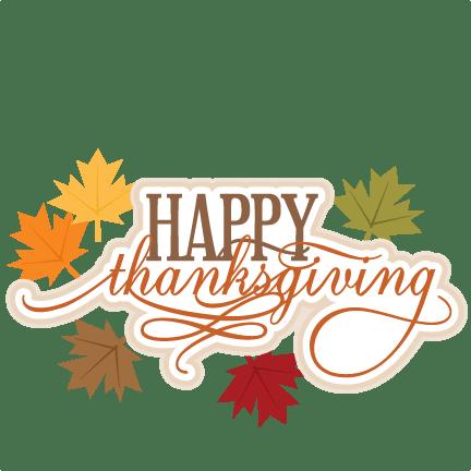 happy thanksgiving svg scrapbook