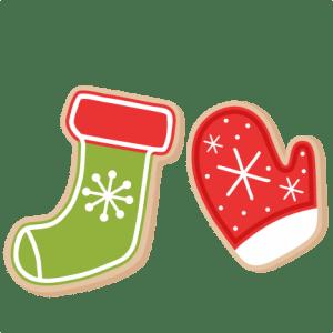 christmas cookies scrapbook clip