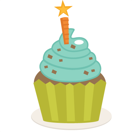 birthday cupcake svg scrapbook