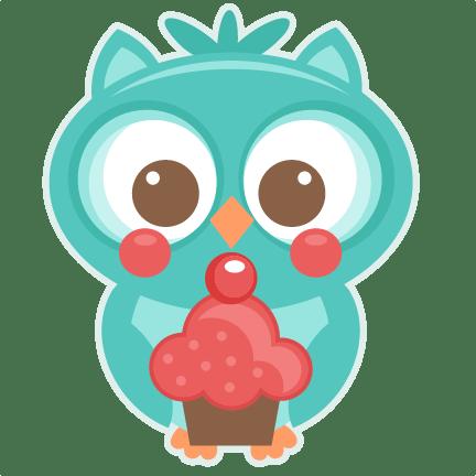 Birthday Owl SVG Scrapbook Titles SVG Scrapbook Birthday